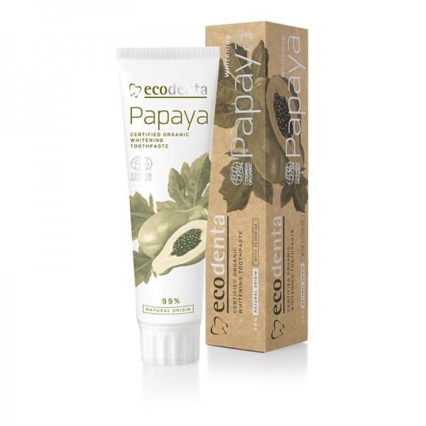 Pasta de dientes orgánica certificada